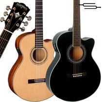 Guitarra Electroacustica Washburn Ea12 + Funda + 12cuotas