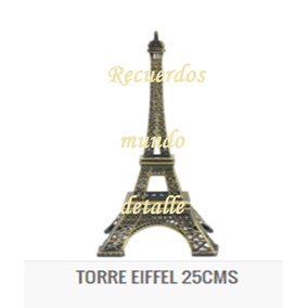 Torre Eiffel Metal Paris Centros De Mesa Decoración Vintage