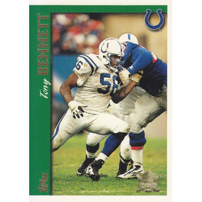 1997 Topps Minted In Canton Tony Bennett De Colts