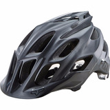 Capacete Fox Flux Matte Black Ciclismo Bike Mtb S / M 2017