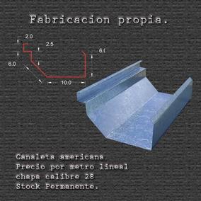 Diseño, Fabricacion Y Venta De Canaletas. Entrega Inmediata.