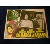 La Marca De Satanas Luis Aguilar Lobby Card Cartel Poster