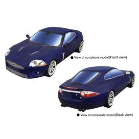 Papel Modelismo 3d - Veículos Antigos - Jaguar Xkr