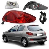 Par Lanterna Red Peugeot 206 2004 A 2008 Serve 98 A 2003