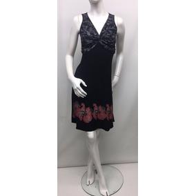Lote 4 Vestidos Con Estampa Artesanal