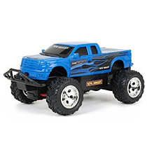 Nuevo Brillante 132 R / C F / F Hola Jinete Azul Del Carro