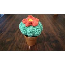 Cactus Tejido Al Crochet