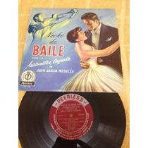 Juan Garcia Medeles Noche De Baile Mini Lp De 8 Canciones