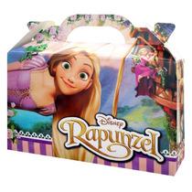 40 Valijitas Golosineras Rapunzel Y 40 Anotadores 10x7cm