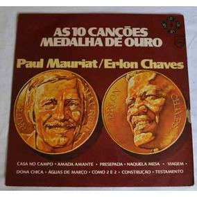 Lp Paul Mauriat / Erlon Chaves As 10 Canções Medalha De Ouro
