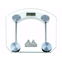 Balança Digital Banheiro 180 Kg Vidro Temperado Quadrado