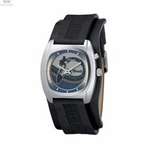 Relógio Masculino Bracelete Pulseira De Couro Fóssil Jr-8290