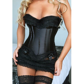 Corset Inclute Mini Falda Tallas Disponible S M L Xl Xxl