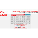 Chip Claro Max Plan 29 Smartphone Iphone 500mb
