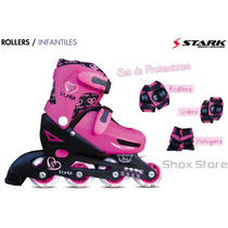 Rollers Stark Kids Extensibles Ruedas 72 Mm Hermosos Palermo