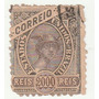 Selo Antigo - Brasil - Correio - 1908 - 2000 Réis - Ab