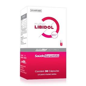 Suplemento Libidol Feminino | 30 Cápsulas | Saúde Garantida