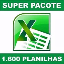 1600 Planilhas Excel 100% Editáveis Download Agora Ja Hora