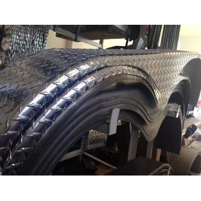 Polvera Para Remolque De Aluminio 2 Ejes Antiderrapante