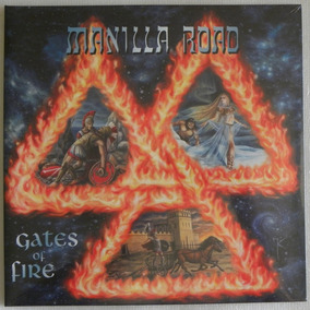 Manilla Road Gates Of Fire 2 Lp Medieval Steel Angel Witch