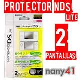 Portector De Pantalla Nintendo Ds Lite No Rayas