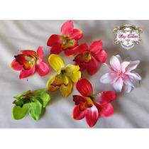 Flores Para Pelo Y Prendedores Telavintage,pinup Rockabilly