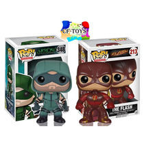 Arrow Flash Set 2 Piezas Funko Pop Serie Warner Crossover Cf