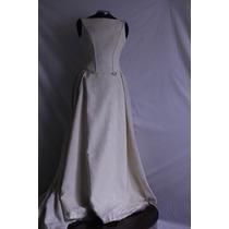 Vestido De Novia Vintage Hermosa Tela