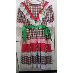 Vestido Para Festa Juanina Para Criança 12 Anos