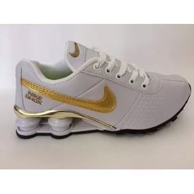 Nike Shox Cromado 4 Molas