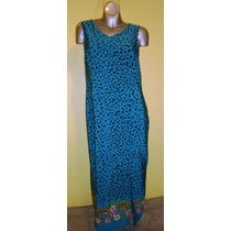 Vestido Sag Harbor Drees Talla Grande14 36-38 Azul Rey