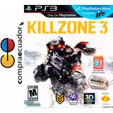 Killzone 3 En 3d Playstation 3 Ps3 Disco Fisico Sellado