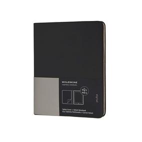Moleskine Case Para Tablet Ipad 3ª E 4ª Geração - Preto