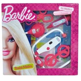 Barbie Kit Medica C/funcoes C/ 5 Acessorios Bonellihq