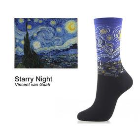 Calcetines De Moda Con Pintura Famosa Van Gogh