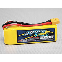 Bateria Lipo Zippy Compact 2200mah 3s 25c 11,1v