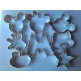Cortadores De Masa Repostería Mickey 8