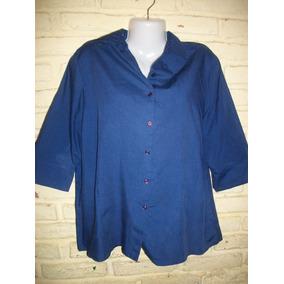Camisa Azul Moderna Talle Xl