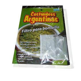 Filtro Bombilla De Mate 6 Blisters X 2 Unid - $ 12,50 C/u