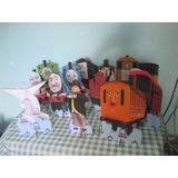 Thomas E Seus Amigos,display De Mesa,festa Infantil,mdf Tipo