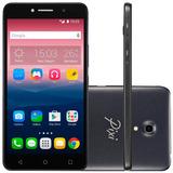 Smartphone Alcatel One Touch Pixi4 Tela 6 8gb Dual Preto