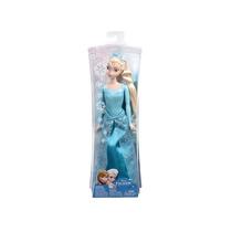 Boneca Elsa Brilhante Disney Frozen - Mattel