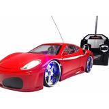 Carrinho Controle Remoto Ferrari Gratis Pilhas E Bateria