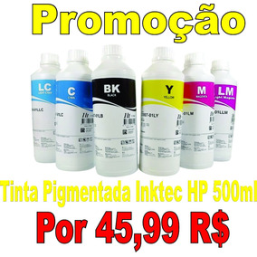 Tinta Pigmentada Inktec Hp Frasco 500ml Hp Pro 8000, 8100, 8