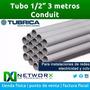Tubo Pvc Tubrica 1/2 3mts Electricidad Redes Camaras Alarma