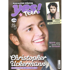 Revista Pôster Christopher Uckermann =kdabra Rbd Von Rebelde