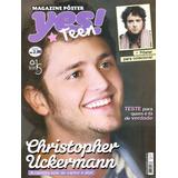 Revista Pôster Christopher Uckermann =kdabra Rbd Von Rebelde