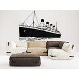 vinilos decorativos titanic barco grande