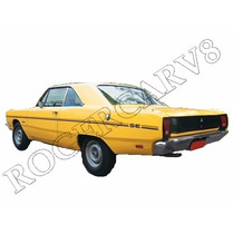 Faixa Lateral Decorativ Dodge Dart Se 72 73 Padrão Original