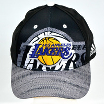 Los Angeles Lakers Adidas Gorra 100% Original